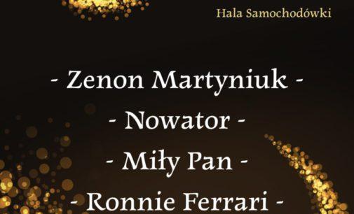 Zenek Martyniuk i Ronnie Ferrari – 8 marca w Tomaszowie