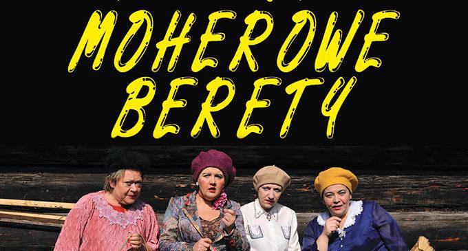 Kabaret Moherowe Berety na Dzień Kobiet dla seniorów