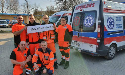 #NieKłamMedyka apel tomaszowskich ratowników medycznych