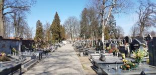 Cmentarz przy ul. Dąbrowskiej będzie czasowo zamknięty