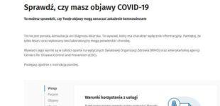 Resort zdrowia uruchomił wirtualne narzędzie pomagające ocenić ryzyko zarażenia się COVID-19