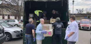 Agencja Rezerw Materiałowych przekazuje dla szpitali środki ochrony indywidualnej