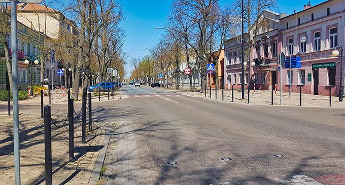 W nocy rozpocznie się odkażanie ulic Tomaszowa