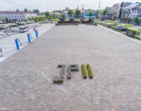 Setna rocznica urodzin Jana Pawła II. Wystawa i symboliczny napis w centrum miasta