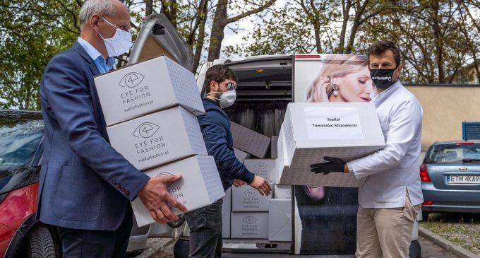 500 fartuchów ochronnych trafiło do szpitala