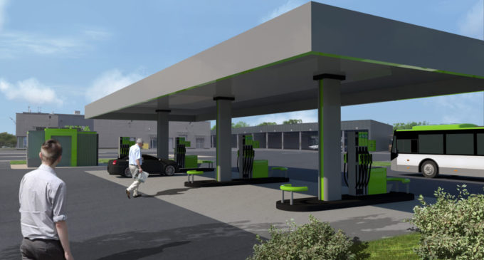 Na terenie zajezdni MZK stanie ogólnodostępna stacja paliw