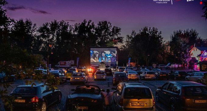 Nocne motokino zawitało do Tomaszowa (zdjęcia i film)