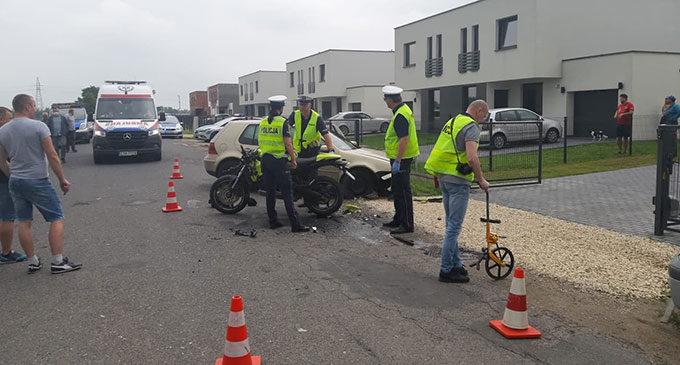 Śmierć poniósł młody motocyklista