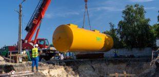 Rozpoczęła się budowa stacji paliw na terenie zajezdni MZK (FOTO i WIDEO)