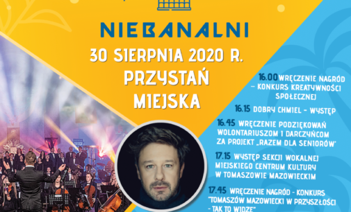 Andrzej Piaseczny i Orkiestra Symfoniczna Tomaszowa Mazowieckiego na pikniku Lokalni Niebanalni