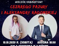 """""""Ziomki z osiedla"""" czyli Radomska i Pazura na kabaretowej scenie"""