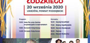 W niedzielę Dożynki Województwa Łódzkiego w Uniejowie