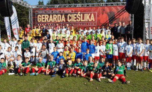 Młoda Lechia (rocznik 2008) walczyła w Turnieju o Puchar Gerarda Cieślika