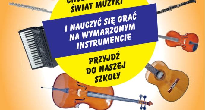 Szkoła Muzyczna w Tomaszowie ogłasza nabór