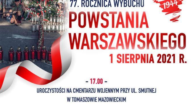 Upamiętnimy 77. rocznicę wybuchu Powstania Warszawskiego