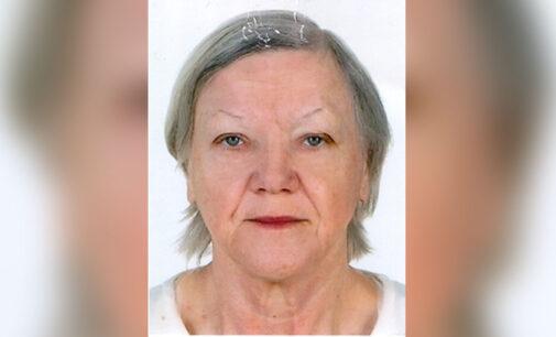 Zaginęła 71-letnia tomaszowianka Janina Ciszewska