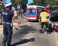 Tragiczny wypadek na Rondzie Olimpijczyków