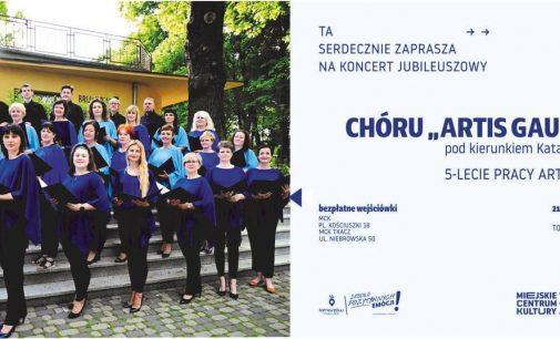 Koncert jubileuszowy chóru Artis Gaudium